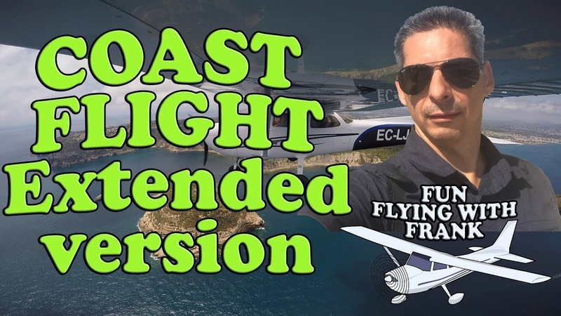 Awesome Valencia Coast Flight REQUENA to MUTXAMEL Extended Version