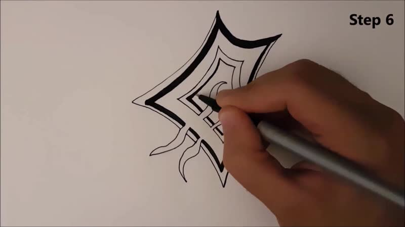 ✍ How To Draw 20 🌟 eXploration (Logo 2)   Easy 💫 eXploration