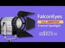 FalconEyes CLL-3000TDX 300W Fresnel Spotlight 3000-8000K with DMX512
