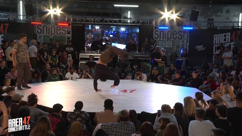 AREA 47 Dance Battle 2019 I BREAKING SEMIFINAL 2 THE WOLFER VS SHIN SHAN