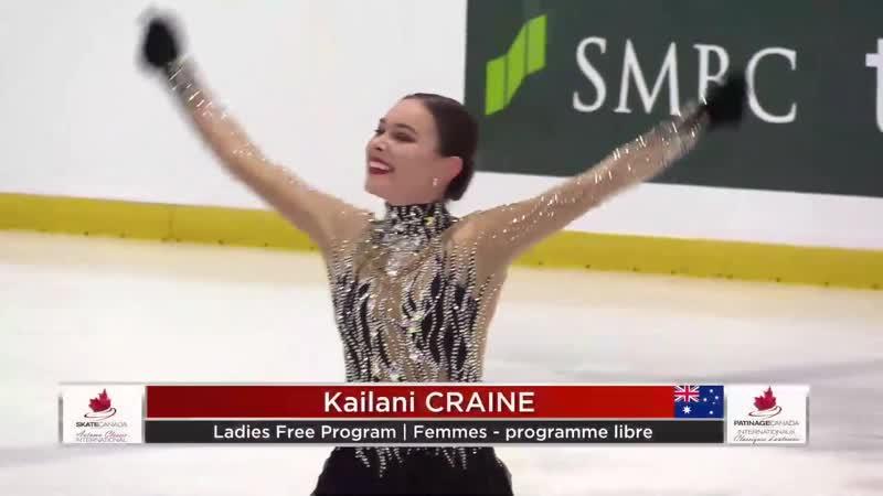Kailani CRAINE FP Autumn Classic 2019