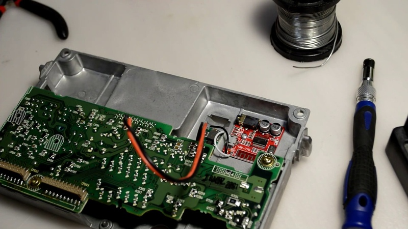 Устанавливаем Bluetooth модуль в Symphony 1 Audi A4 A6