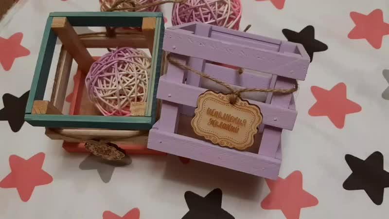 Ящик реечный для декора