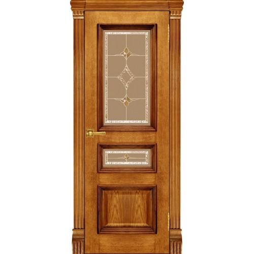 Дверь Магнолия 3, дуб антико
