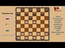 Tokusarov Ivan (RUS) - Grebenkin Valeriy (UKR). World_Russian Checkers_Men-1998. Final.