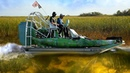 Airboat Ride in the Florida Everglades Among Alligators w Scott Martin Shotguns DALLMYD