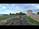 4K CABVIEW Beograd Marshalling Yard Beograd Main station Beograd Dunav diesel locomotive ride