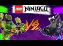 LEGO Ninjago Spinjitzu Lloyd vs Garmadon Ллойд мастер Кружитцу против Гармадона 70664 ОБЗОР Review
