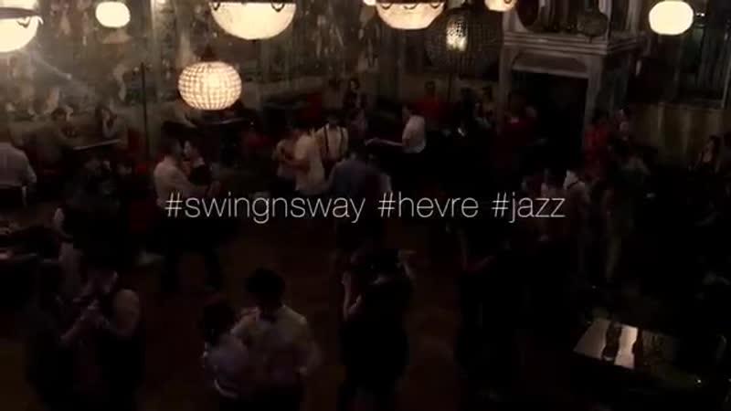 Dancing Swing Sway w klubie Hevre (Kraków, Kazimierz)