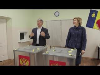 Алексей Цыденов на выборах мэра Улан-Удэ