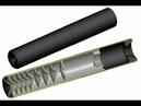 Глушитель ДТК на нарезное 308 калибр Muffler DTK on Orsis 308 caliber
