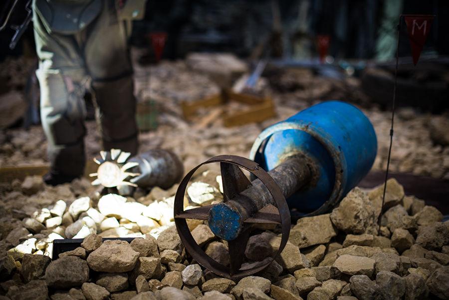 Трофеи из «песочницы»Репортаж c выставки вооружений сирийских боевиков, изображение №40