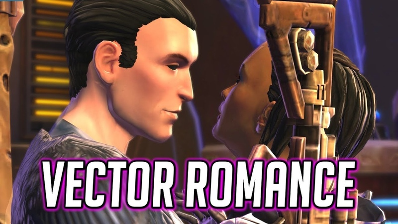 SWTOR Vector Romance Reunion with Female Imperial Agent - 5.8