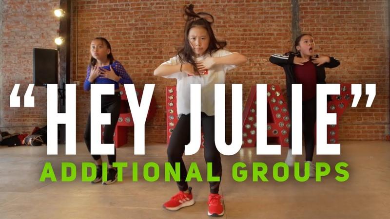 Hey Julie Additional Groups @superduperkyle @lilyachty @GuyGroove Choreography