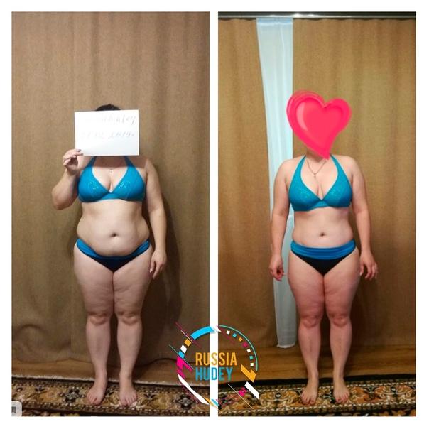 За месяц похудел на 5 кг причины