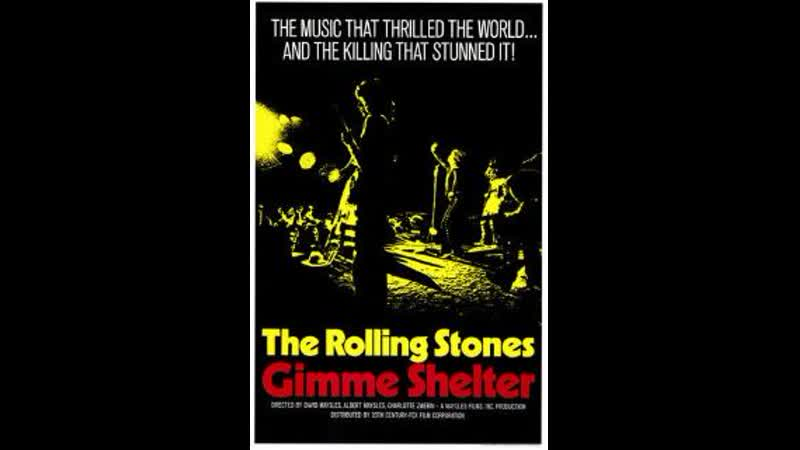The Rolling Stones Gimme Shelter iLive at Altamont Concert 1969