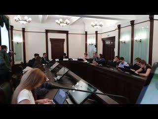 Смотрим в прямом эфире, как мэр Высокинский открывает новый портал
