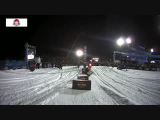 Jake Anstett takes bronze in Harley-Davidson Snow Hill Climb _ X Games Aspen 201