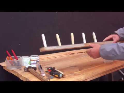 Озимый чеснок .Приспособление для посадки чеснока и лука. самоделки. быстро. просто. удобно.