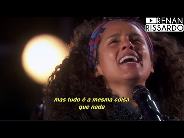 Alicia Keys John Mayer If I Ain't Got You Gravity Tradução