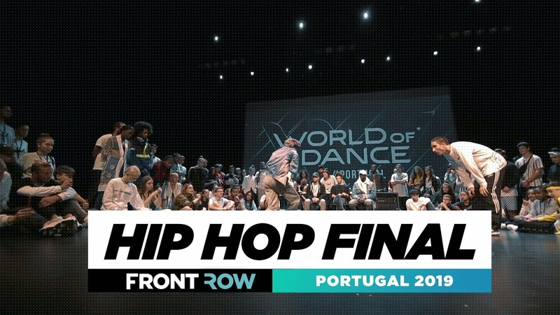 HIPHOP FINAL   FRONTROW   World of Dance Portugal 2019   WODPOR19