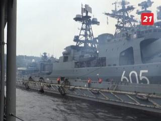 Корабли Северного флота сегодня взяли курс в высокие широты