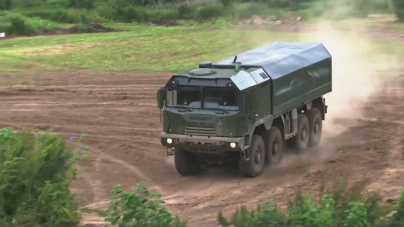 VOLAT's live demonstration at Eurosatory 2016 an exciting show by tactical vehicle MZKT 600203