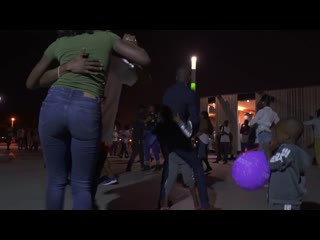 Jamaica Negro & Teresa Freitas. Кизомба на улицах Анголы.