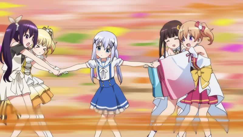 Заказывали кролика 2 OVA (озвучка ХЗ lol) Gochuumon wa Usagi Desuka Sing for You