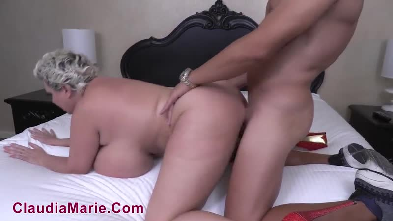 Huge Tit Whore Massaged then Fucked