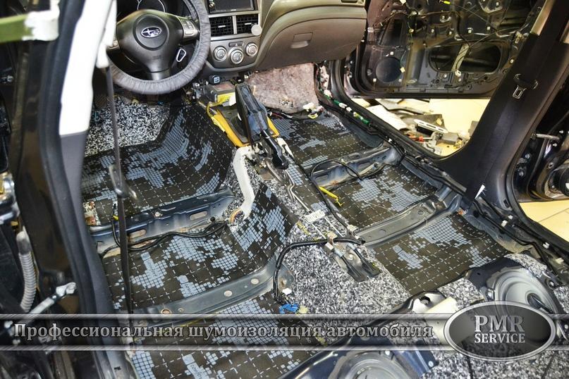 Комплексная шумоизоляция Subaru Impreza, изображение №4