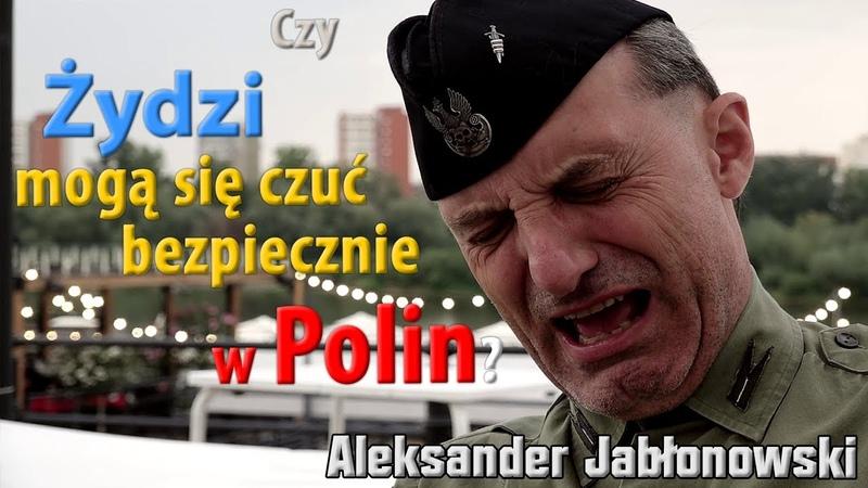Żydzi mogą się czuć bezpiecznie w Polin