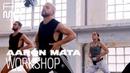 Cómo bailar SEXYSTYLE | WORKSHOP CON AARÓN MATA | FAMA A BAILAR