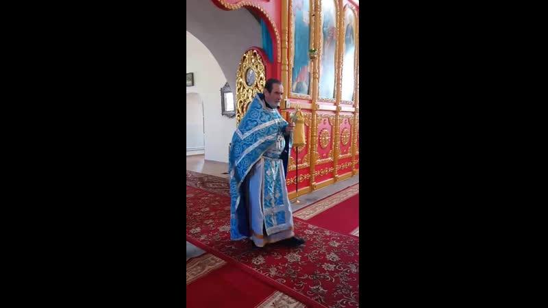 Проповедь о Александра Ваховского в Праздник Успения Пресвятой Богородицы 28 08 19