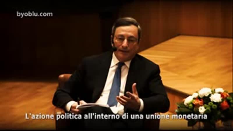 Draghi: abbiamo dovuto impoverirvi per l euro. www.byoblu.com/2015/01/06/con-leuro-abbiamo-dovuto-impoverirvi-ora-lo-dic