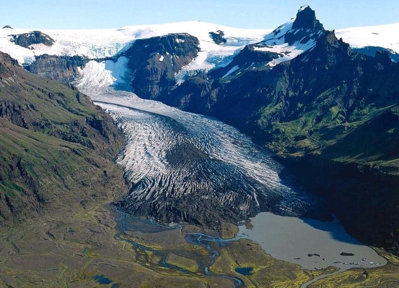 Интересные места нашей планеты Скафтафетль (Исландия), изображение №1
