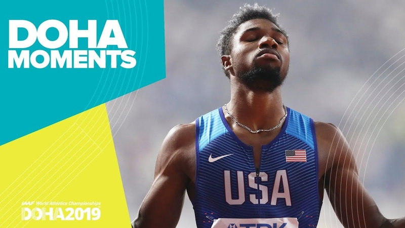 Noah Lyles Sprints to 200m Gold | World Athletics Championships 2019 | Doha Moments