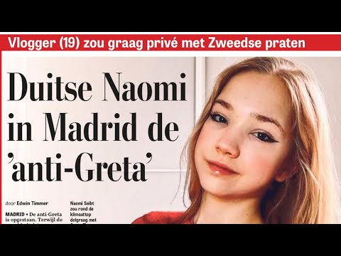 Frisch vom Klima Gipfel Naomi Seibt die neue Anti Greta im Gespräch