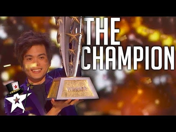 BEST Magician In The World on AGT Champions 2019 Magicians Got Talent