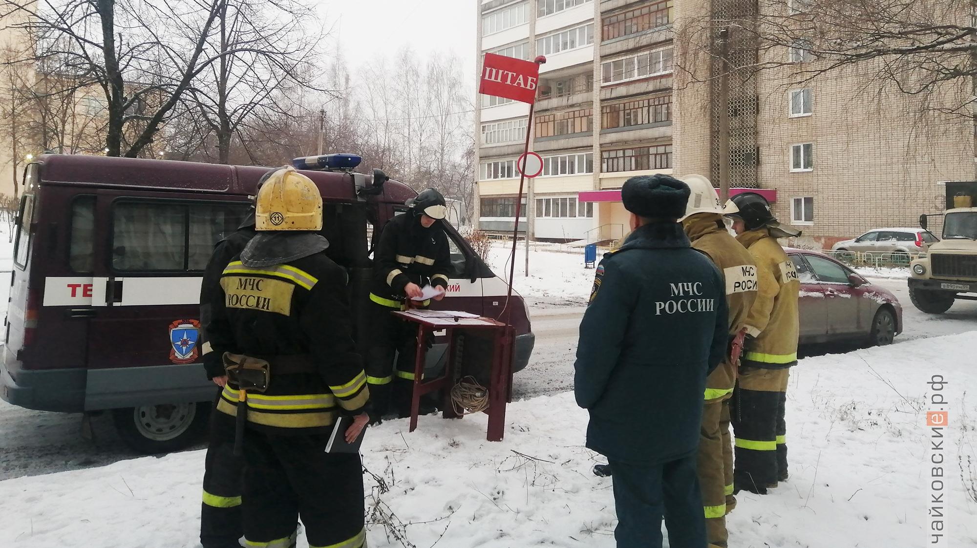 поожар, чайковский район, 2019 год