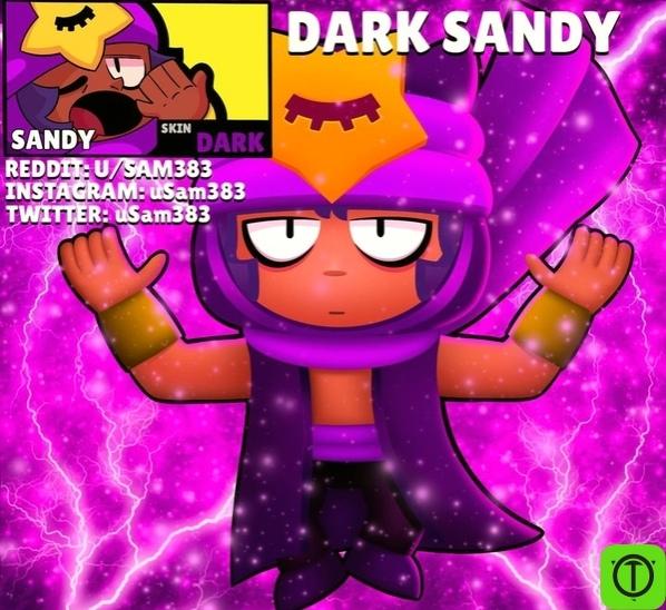 Концепт скина 'Dark Sandy'