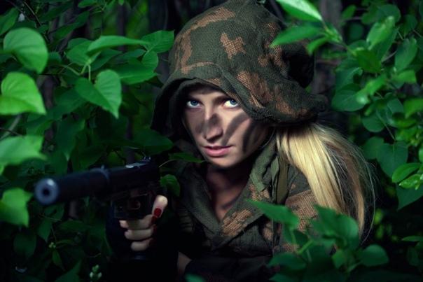 Обои Военные Девушки