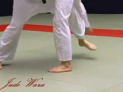 Russian Teach Judo De Ashi Barai To Ouchi Gari To De Ashi Barai