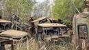 Нашел тайник сталкеров в заброшенном селе Рассоха Радиоактивные машины Чернобыля