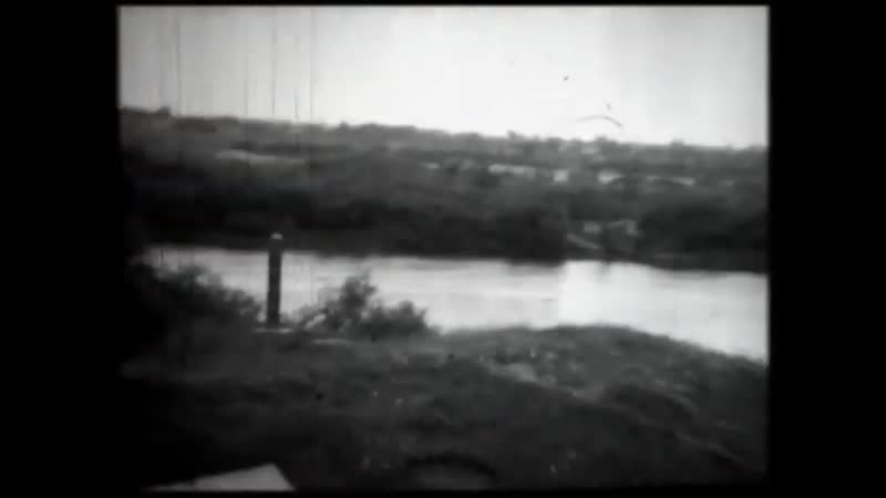 Пересечение пограничной реки Буг на поезде Вюнсдорф Москва 1970 год