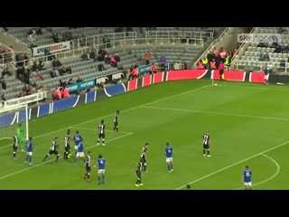 Newcastle 1-1 leicester (2-4 pens) video watch tv show sky s