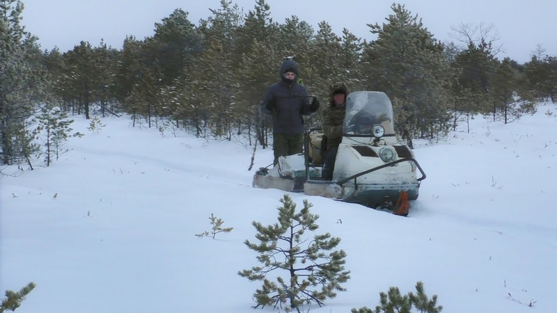 Зимняя рыбалка на таёжном озере