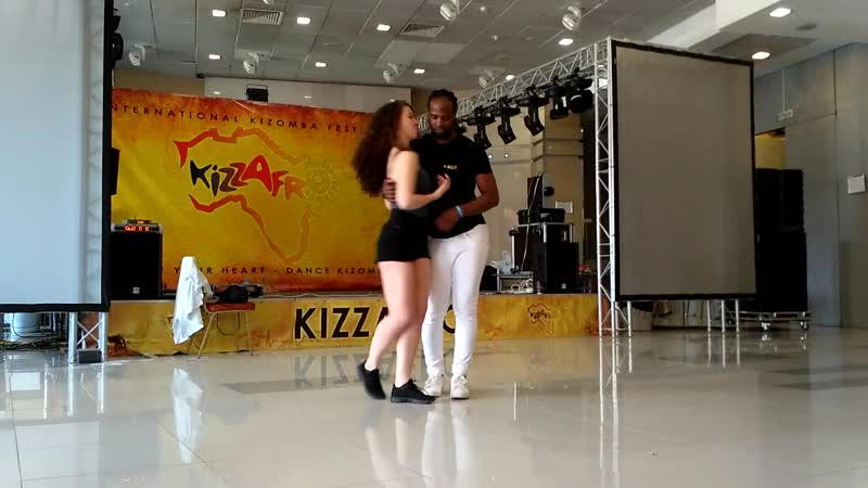 JD Deceus Urban Lyric Style after class demo at Kizzafro2019