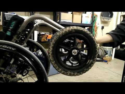 Offroad Wheelchair Conversion - DIY