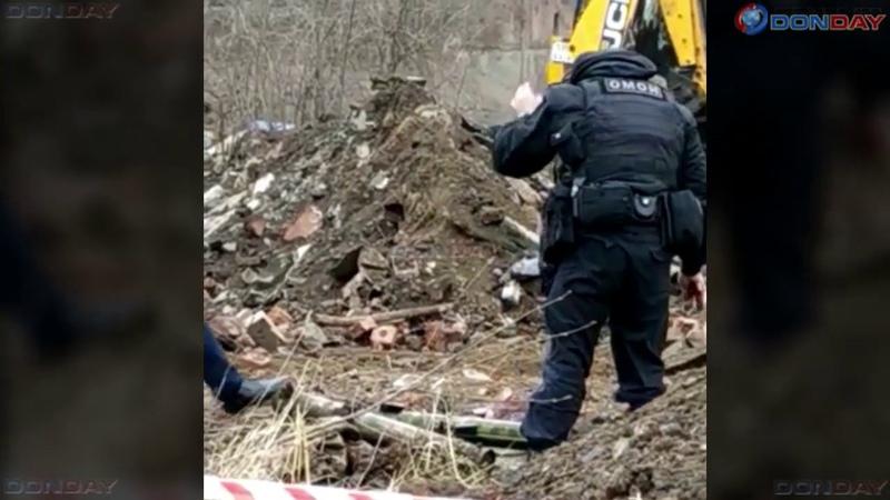 Donday В Новочеркасске обнаружили схрон из 9 реактивных пехотных огнеметов